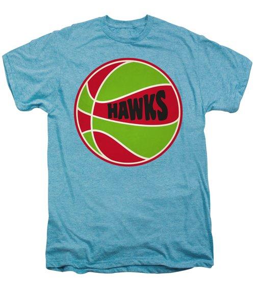 Atlanta Hawks Retro Shirt Men's Premium T-Shirt by Joe Hamilton