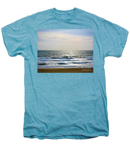 Atlantic Sunrise - Sandbridge Virginia Men's Premium T-Shirt