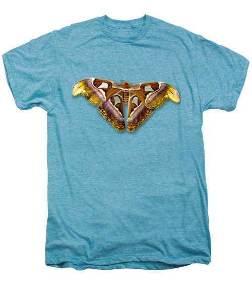 Atlas Moth 2 Sehemu Mbili Unyenyekevu Men's Premium T-Shirt