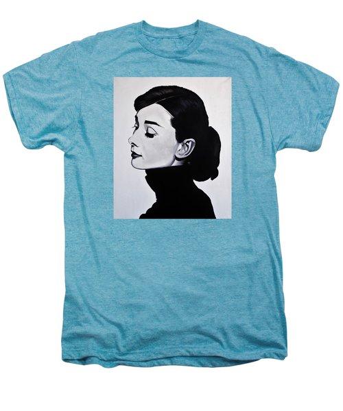 Audrey Hepburn 1 Men's Premium T-Shirt