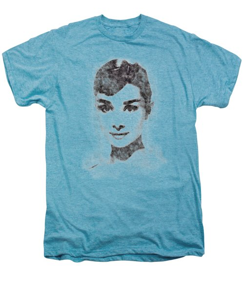 Audrey Hepburn Portrait 02 Men's Premium T-Shirt