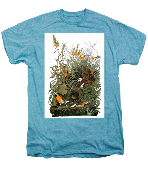 Audubon: Meadowlark Men's Premium T-Shirt