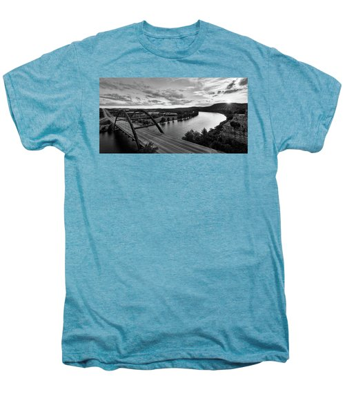 Austin 360 Pennybacker Bridge Sunset Men's Premium T-Shirt