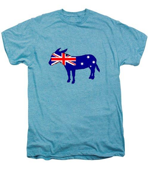 Australian Flag - Donkey Men's Premium T-Shirt