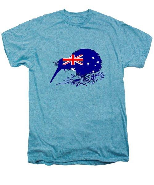 Australian Flag - Kiwi Bird Men's Premium T-Shirt