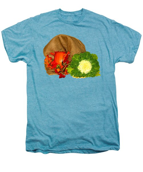 Autumn Display Expressionist Effect Men's Premium T-Shirt