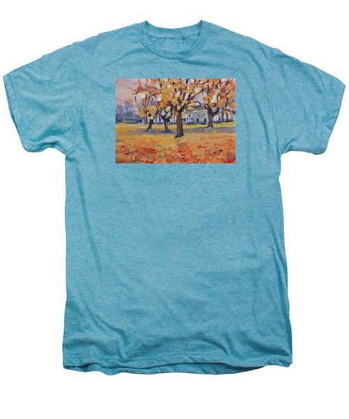 Autumn In The Villa Park Maastricht Men's Premium T-Shirt