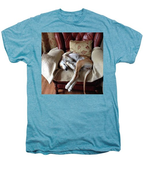Ava - Asleep On Her Favourite Chair Men's Premium T-Shirt