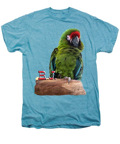B. J., The Military Macaw Men's Premium T-Shirt
