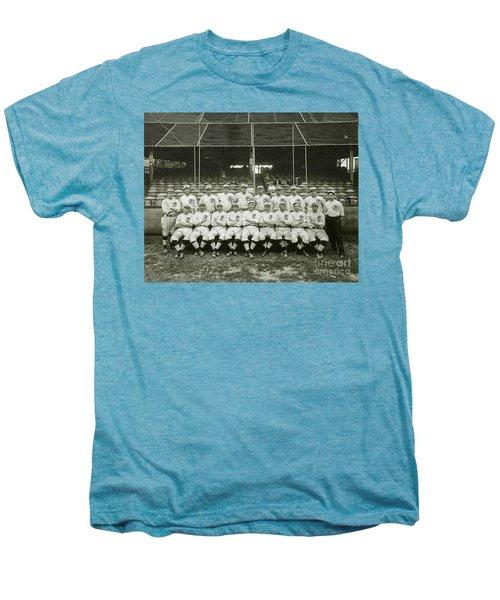 Babe Ruth Providence Grays Team Photo Men's Premium T-Shirt by Jon Neidert