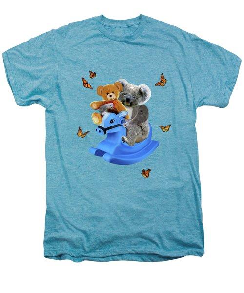 Baby Koala Bear Rocks Men's Premium T-Shirt