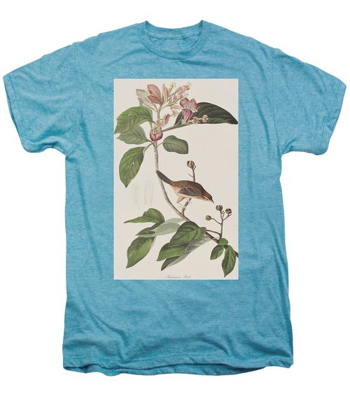 Bachmans Sparrow Men's Premium T-Shirt by John James Audubon