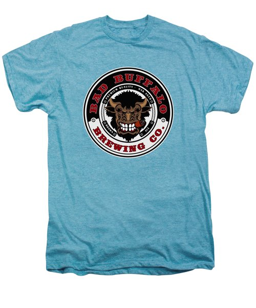 Bad Buffalo Brewing Men's Premium T-Shirt by Christopher Williams
