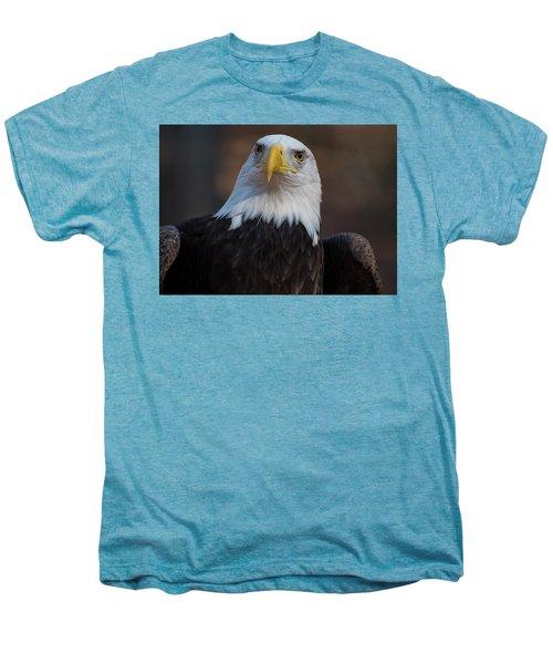 Bald Eagle Looking Right Men's Premium T-Shirt