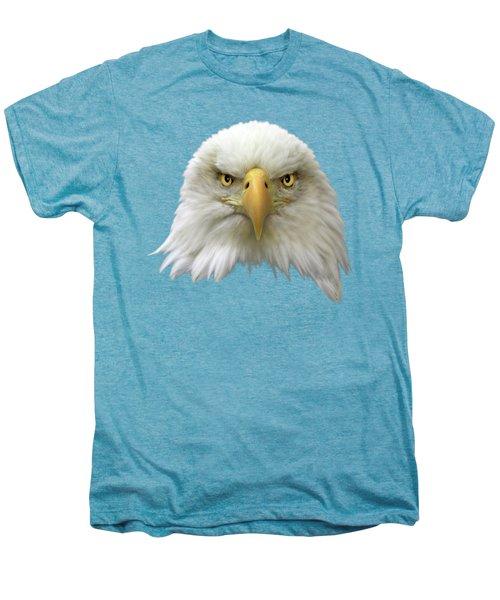 Bald Eagle Men's Premium T-Shirt by Shane Bechler