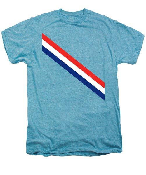 Barber Stripes Men's Premium T-Shirt