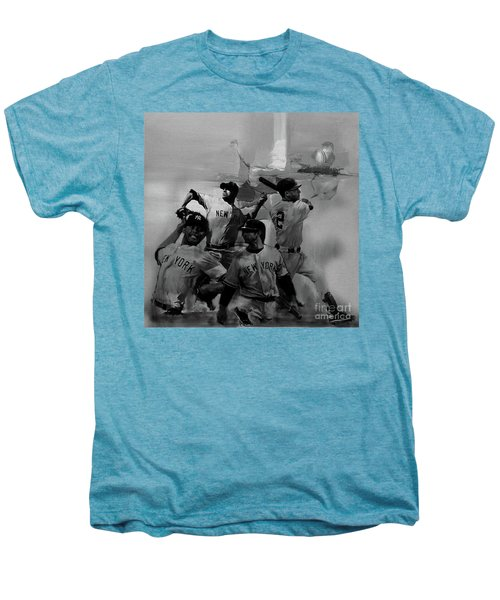 Base Ball Players Men's Premium T-Shirt