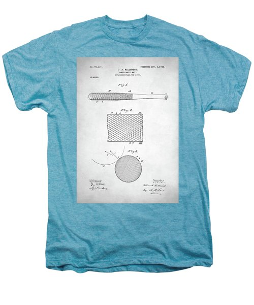 Baseball Bat Patent Men's Premium T-Shirt