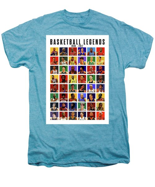 Basketball Legends Men's Premium T-Shirt