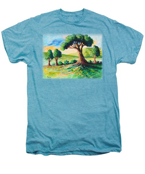 Basking In The Sun Men's Premium T-Shirt