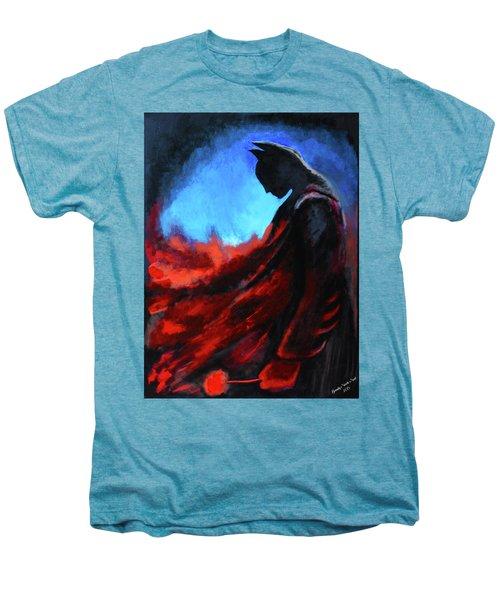 Batman's Mercy Men's Premium T-Shirt by Brandy Nicole Neal