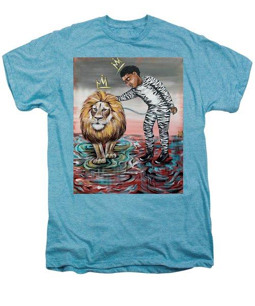 Be Courageous My Son Men's Premium T-Shirt