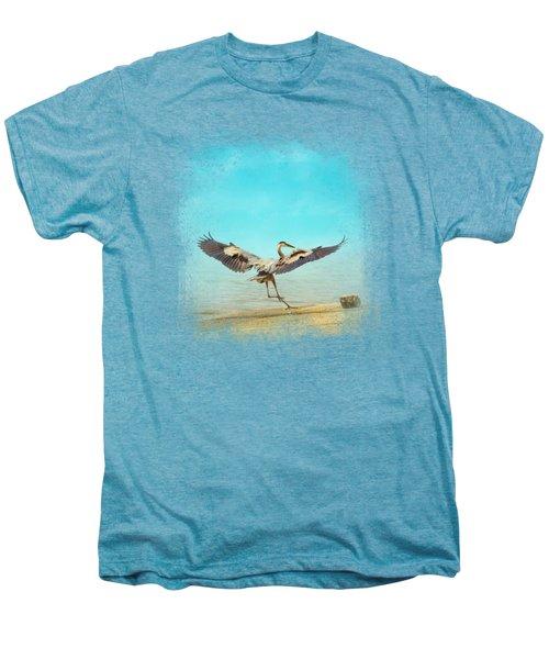 Beach Dancing Men's Premium T-Shirt