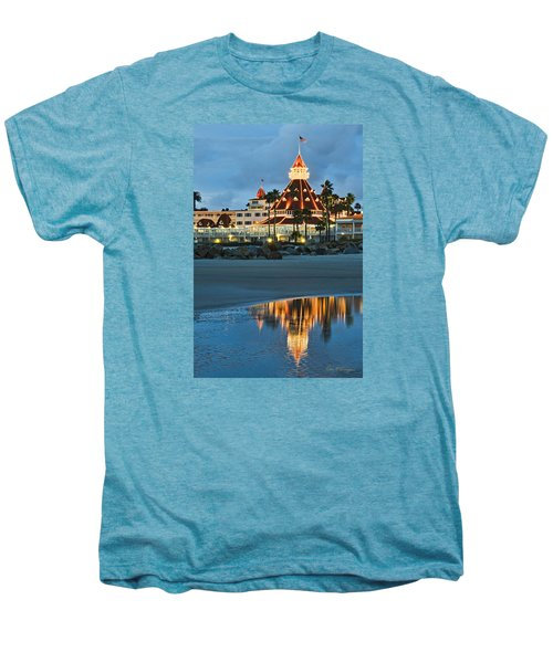Beach Lights Men's Premium T-Shirt