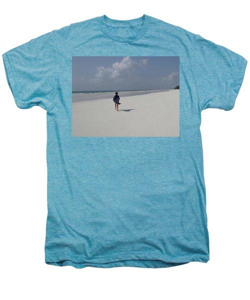 Beach Run Men's Premium T-Shirt