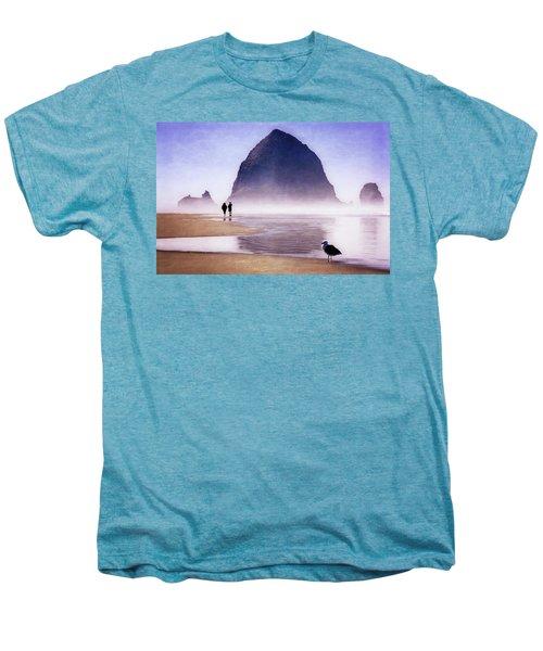 Beach Walk Men's Premium T-Shirt