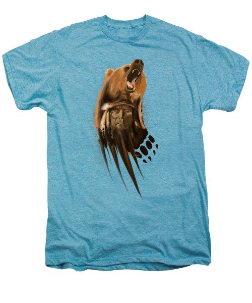 Bear Spirit  Men's Premium T-Shirt