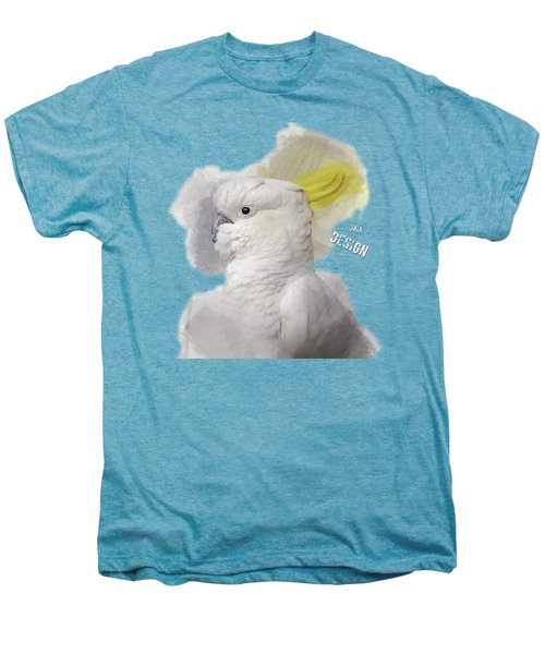 Beautiful Cockatoo No 01 Men's Premium T-Shirt