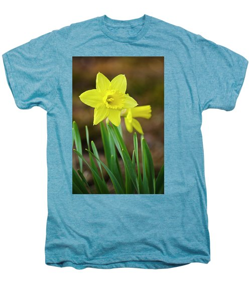 Beautiful Daffodil Flower Men's Premium T-Shirt