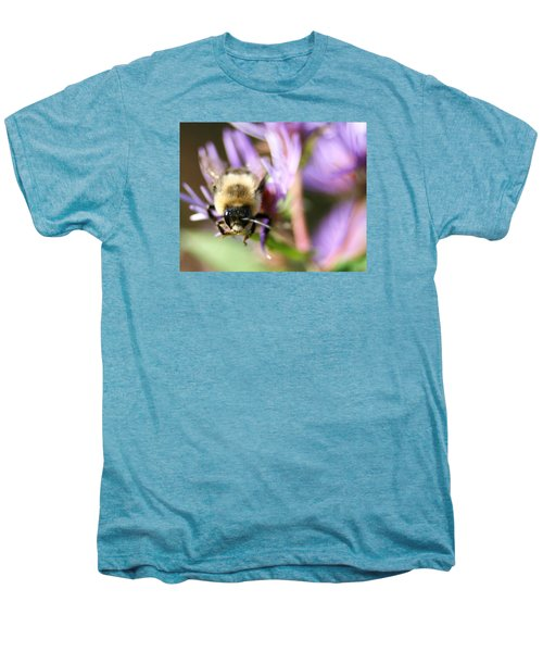 Bee Mustache Men's Premium T-Shirt