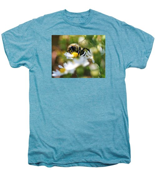 Bee On Aster Men's Premium T-Shirt