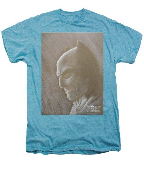 Ben As Batman Men's Premium T-Shirt by Josetta Castner