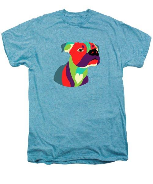 Bennie The Boxer Dog - Wpap Men's Premium T-Shirt by SharaLee Art