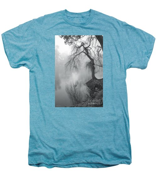 Men's Premium T-Shirt featuring the photograph Bent With Gentleness And Time by Linda Lees