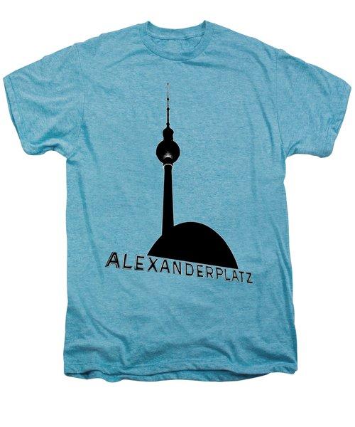 Berlin Alexanderplatz Men's Premium T-Shirt by Julie Woodhouse