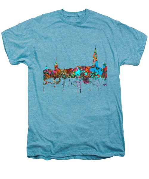 Berne Switzerland Skyline Men's Premium T-Shirt by Marlene Watson