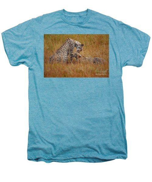 Best Of Friends Men's Premium T-Shirt by Nichola Denny