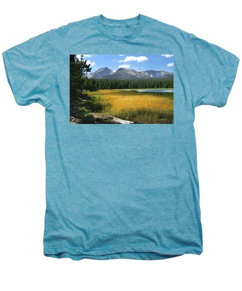 Autumn At Bierstadt Lake Men's Premium T-Shirt
