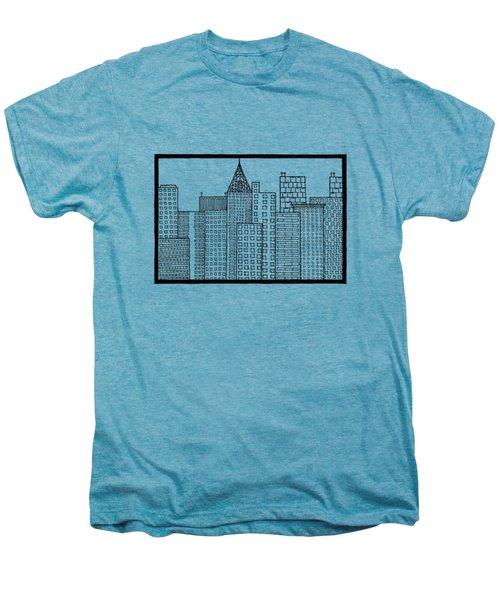 Big City Men's Premium T-Shirt by Konstantin Sevostyanov