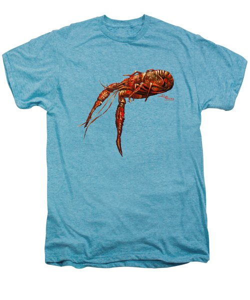 Big Red Men's Premium T-Shirt by Dianne Parks