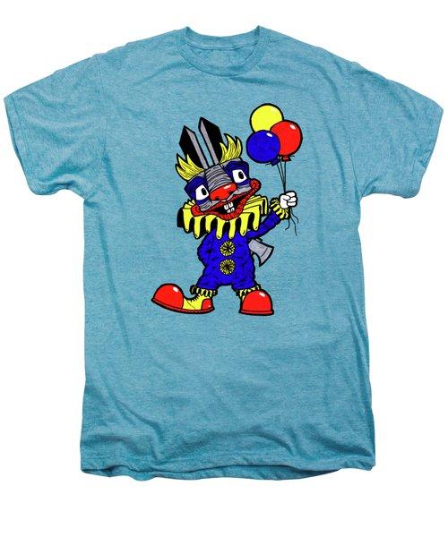 Binky The Bunny Clown Men's Premium T-Shirt by Bizarre Bunny