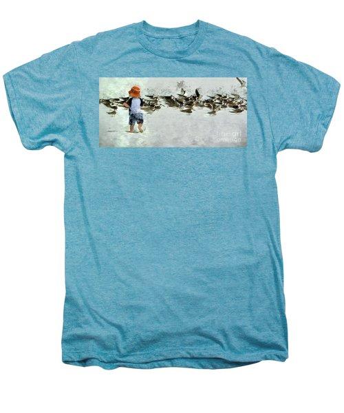 Bird Play Men's Premium T-Shirt