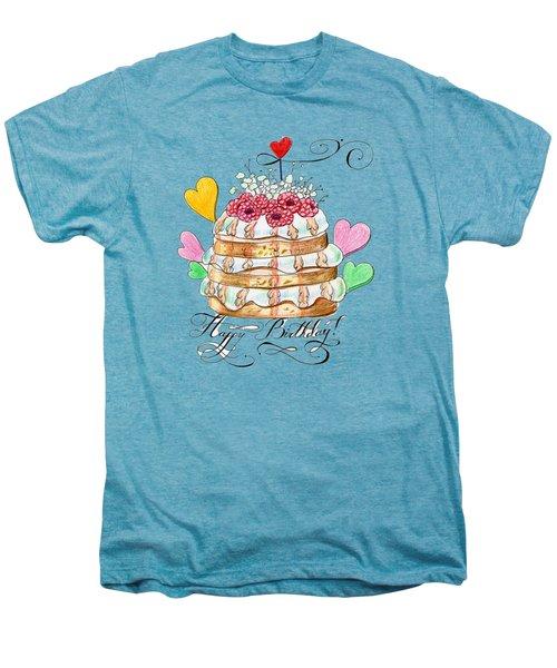 Birthday Cake Men's Premium T-Shirt