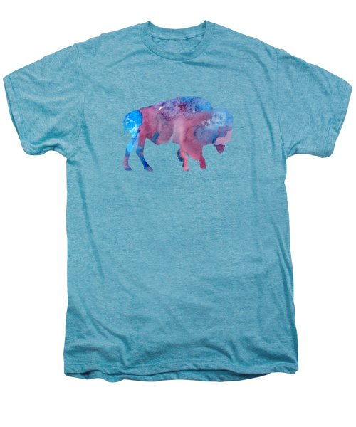 Bison Silhouette Men's Premium T-Shirt