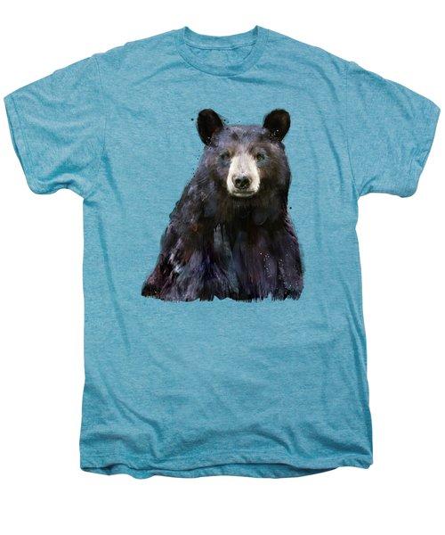 Black Bear Men's Premium T-Shirt by Amy Hamilton
