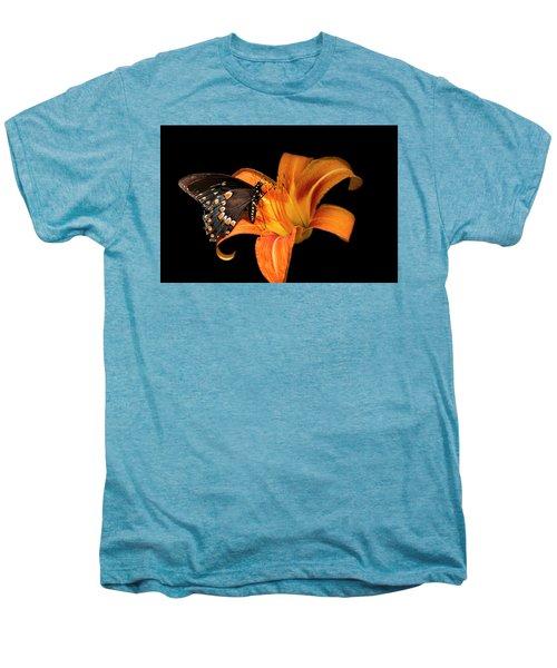 Black Beauty Butterfly Men's Premium T-Shirt